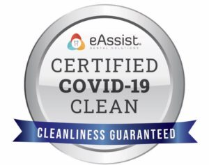 eAssist Certified COVID-19 Clean